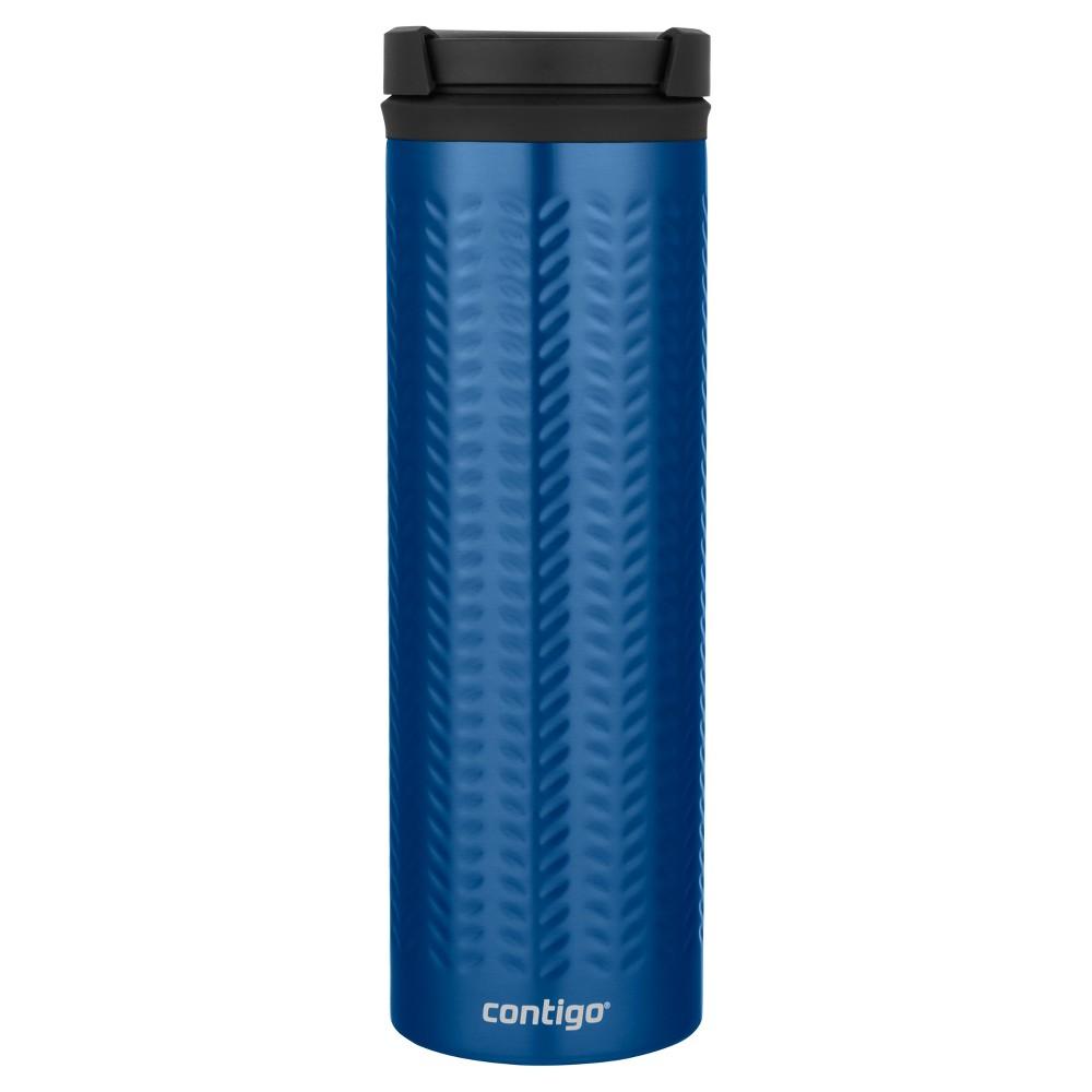Image of Contigo 20oz TwistSeal Eclipse Coffee Travel Mug Blue