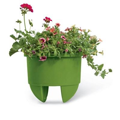 "Home Dek-Decor 12"" Planter for 4"" Railing - Gardener's Supply Company"