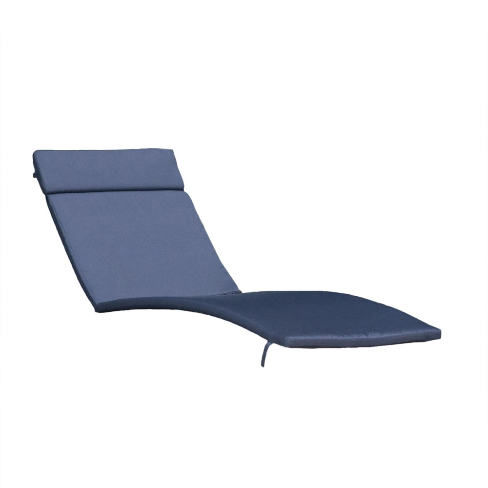 Salem Chaise Lounge Cushion Navy Christopher Knight Home