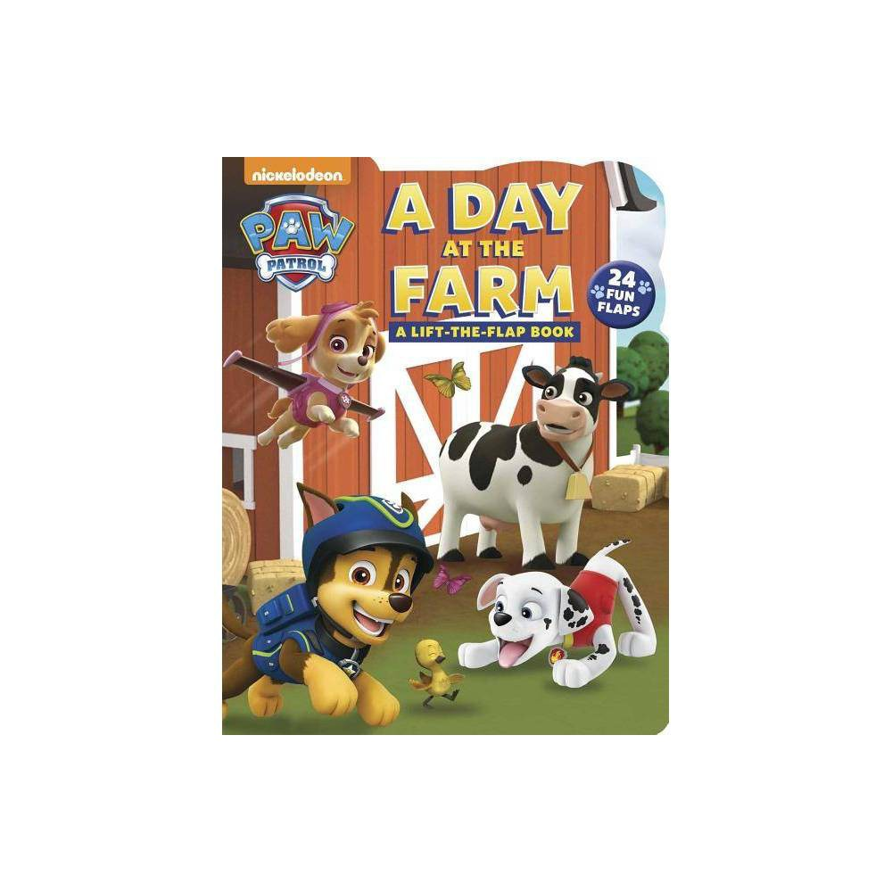 Day At The Farm Paw Patrol By Cara Stevens Hardcover