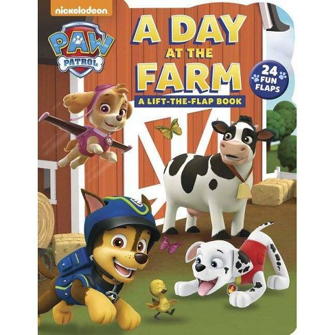 Day at the Farm -  (Paw Patrol) by Cara Stevens (Hardcover) - image 1 of 1
