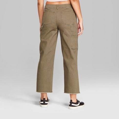 9868841185e Women s Straight Leg Carpenter Pants - Wild Fable...   Target