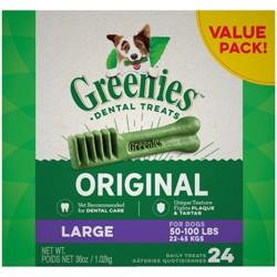 Greenies Large Original Dental Dog Treats