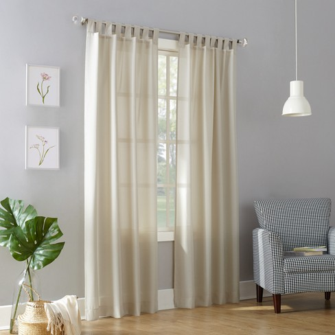 No. 918 Joshua Casual Tab-Top Curtain Panel - image 1 of 4