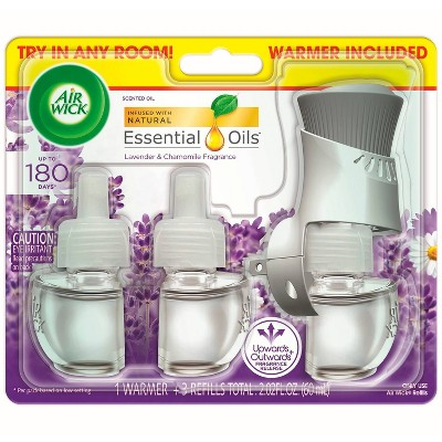 Air Wick Scented Oil Starter Kit - Lavender & Chamomile - 2.01 fl oz