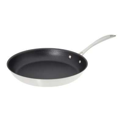 American Kitchen Cookware Premium Tri-Ply Stainless Steel Nonstick 12 Inch Frying Pan