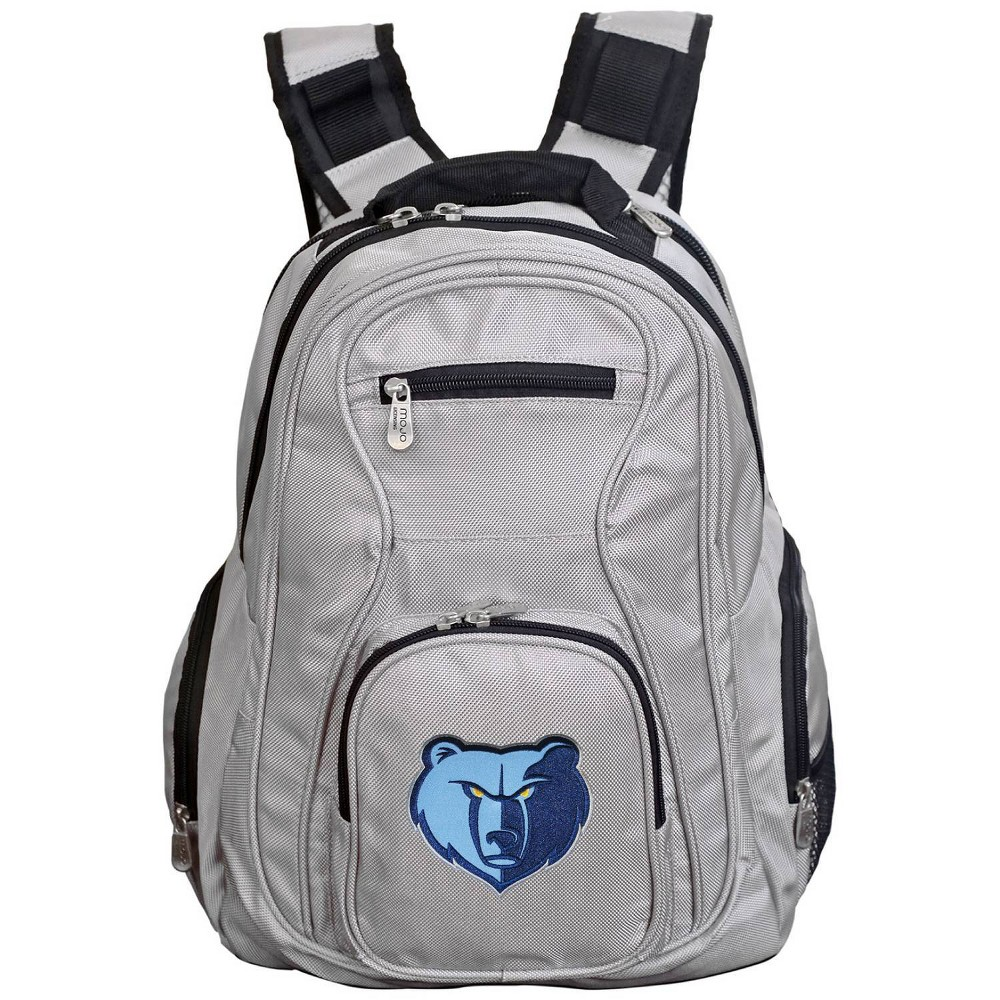 NBA Memphis Grizzlies Gray Laptop Backpack, Size: Small