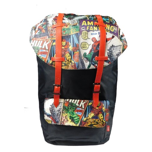 "Marvel Comics 18"" Urban Backpack - Black - image 1 of 5"