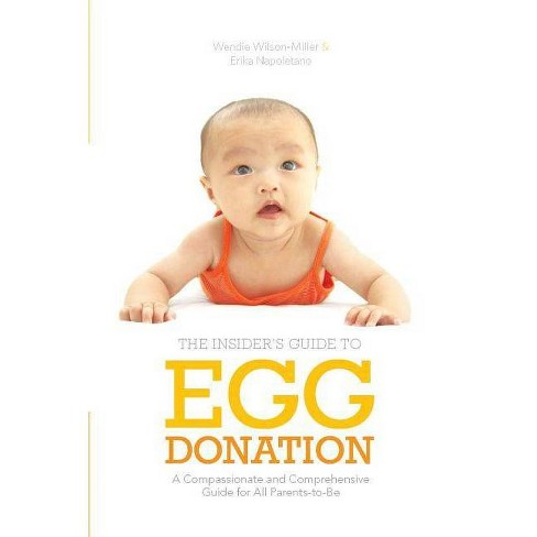 Insider's Guide to Egg Donation - by  Wendie Wilson-Miller & Erika Napoletano (Paperback) - image 1 of 1