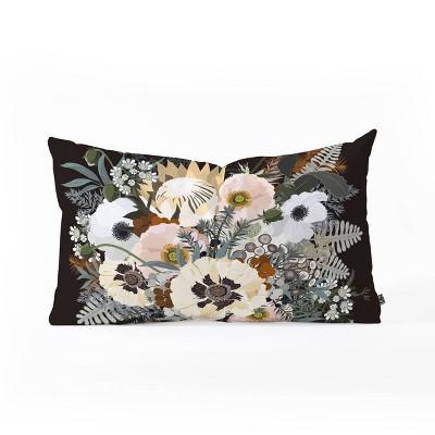 Iveta Abolina Elsa Oblong Lumbar Throw Pillow Brown - Deny Designs