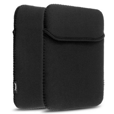 Insten Black Neoprene Soft Sleeve Case Carrying Bag for iPad 4th Retina iPad 3 iPad 2 iPad Air 2019 Acer Iconia A510 Google Nexus 10 ProntoTec