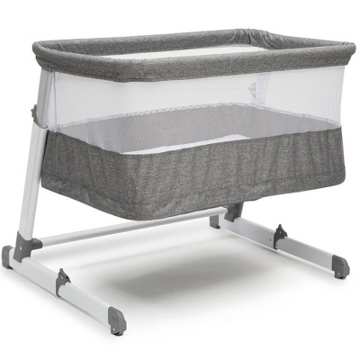 Simmons Kids' Room2Grow Newborn Bassinet to Infant Sleeper - Gray Tweed
