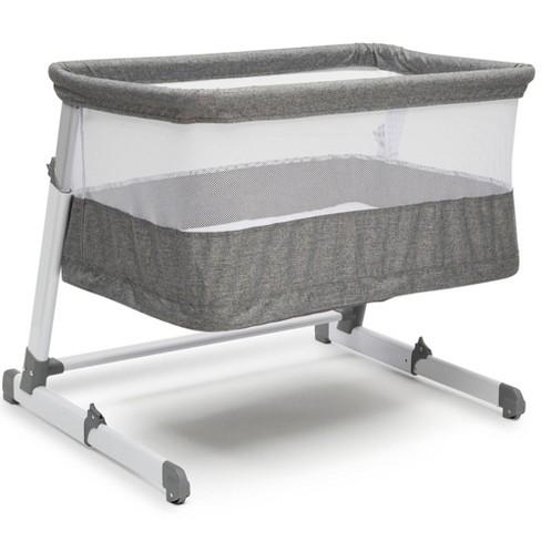 Simmons Kids' Room2Grow Newborn Bassinet to Infant Sleeper - Gray Tweed - image 1 of 4