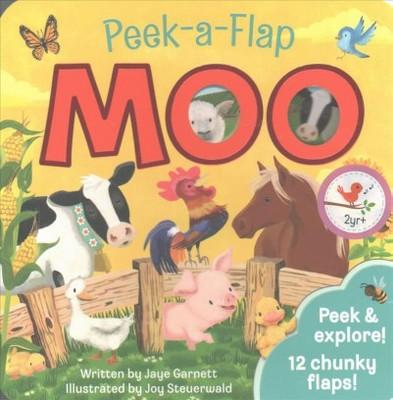 Peek-a-Flap Moo (Hardcover)(Jaye Garnett)