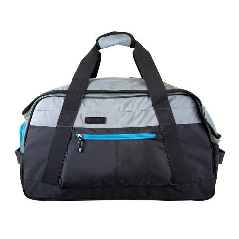 "BONDKA 24"" Duffel Bag - Gray/Black - image 1 of 4"