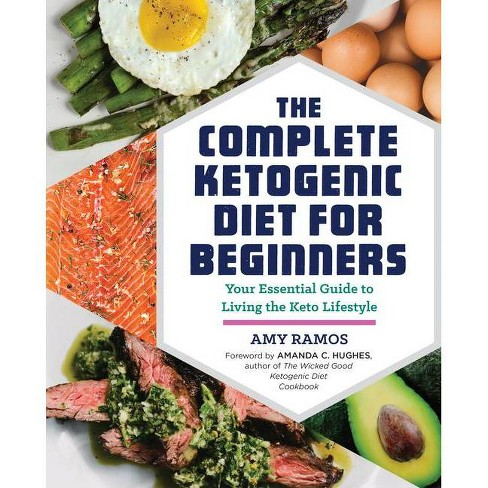 Complete Ketogenic Diet for Beginners : Your Essential Guide to Living the Keto Lifestyle (Paperback) - by Amy Ramos - image 1 of 4
