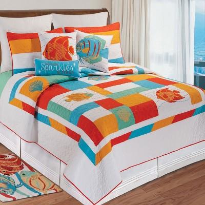 C&F Home South Seas Coastal Beach Theme Cotton Quilt Set