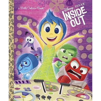 Inside Out (Disney/Pixar Inside Out) - (Little Golden Book) (Hardcover) - by RH DISNEY