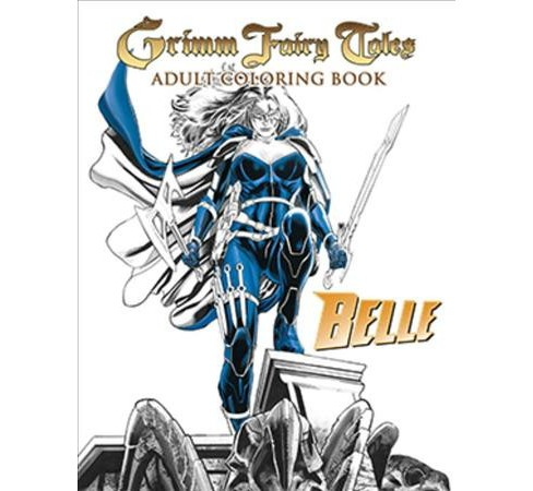 Grimm Fairy Tales Adult Coloring Book Belle Beast Hunter By