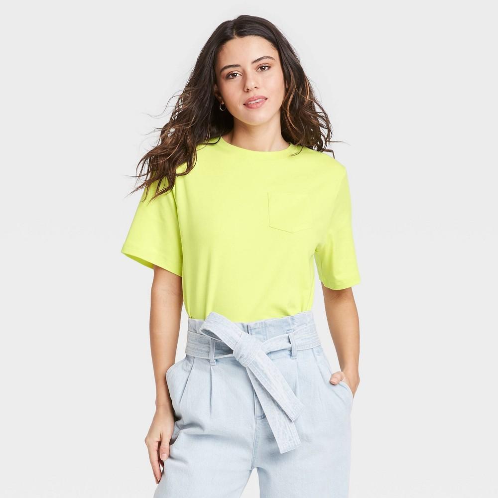 Women 39 S Short Sleeve T Shirt A New Day 8482 Green Xs
