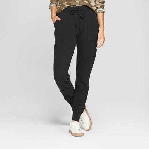 Women s Jogger Pants - Universal Thread™ Black   Target ec2a2732ba
