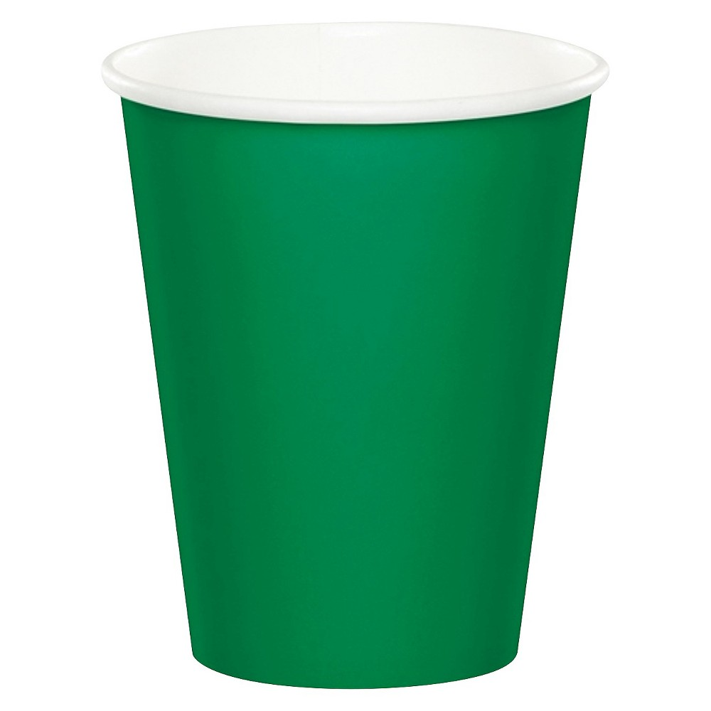 Image of 24ct Fresh Lime Green Disposable Cups