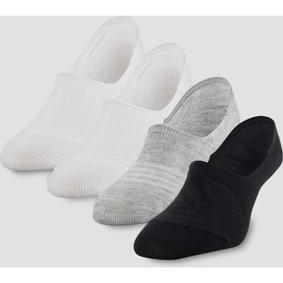 Peds Women's Assorted Sport Cut 4pk Liner Socks - Colors Vary 5-10