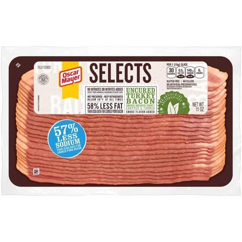 Oscar Mayer Smoked Uncured Turkey Bacon