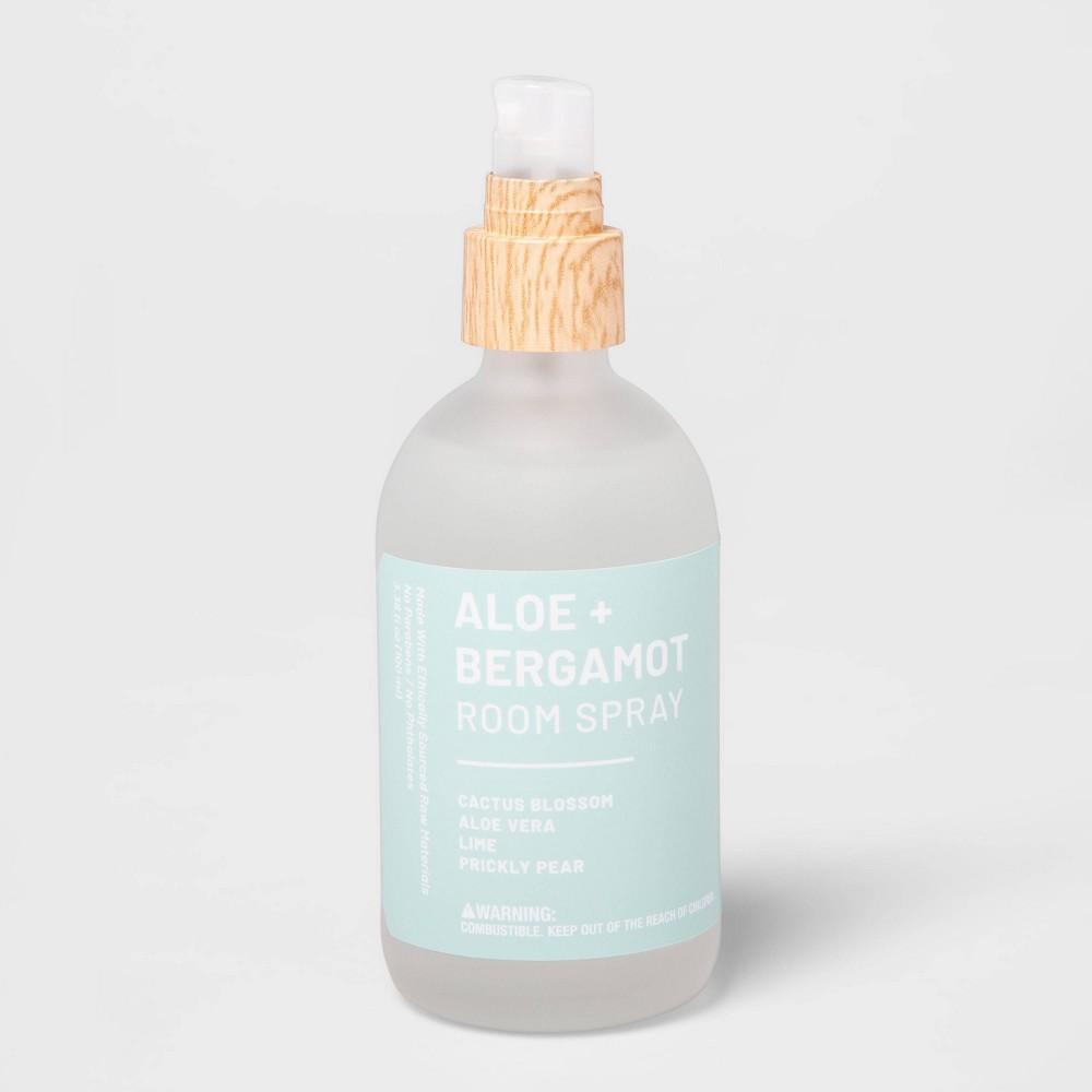 Image of 3.3 fl oz Wellness Essential Oil Room Spray Aloe & Bergamot - Project 62