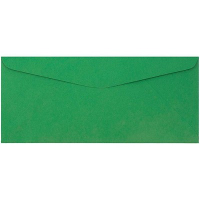 """JAM Paper 50pk 3 7/8""""x8 7/8"""" #9 Business Envelopes - Green Recycled"""