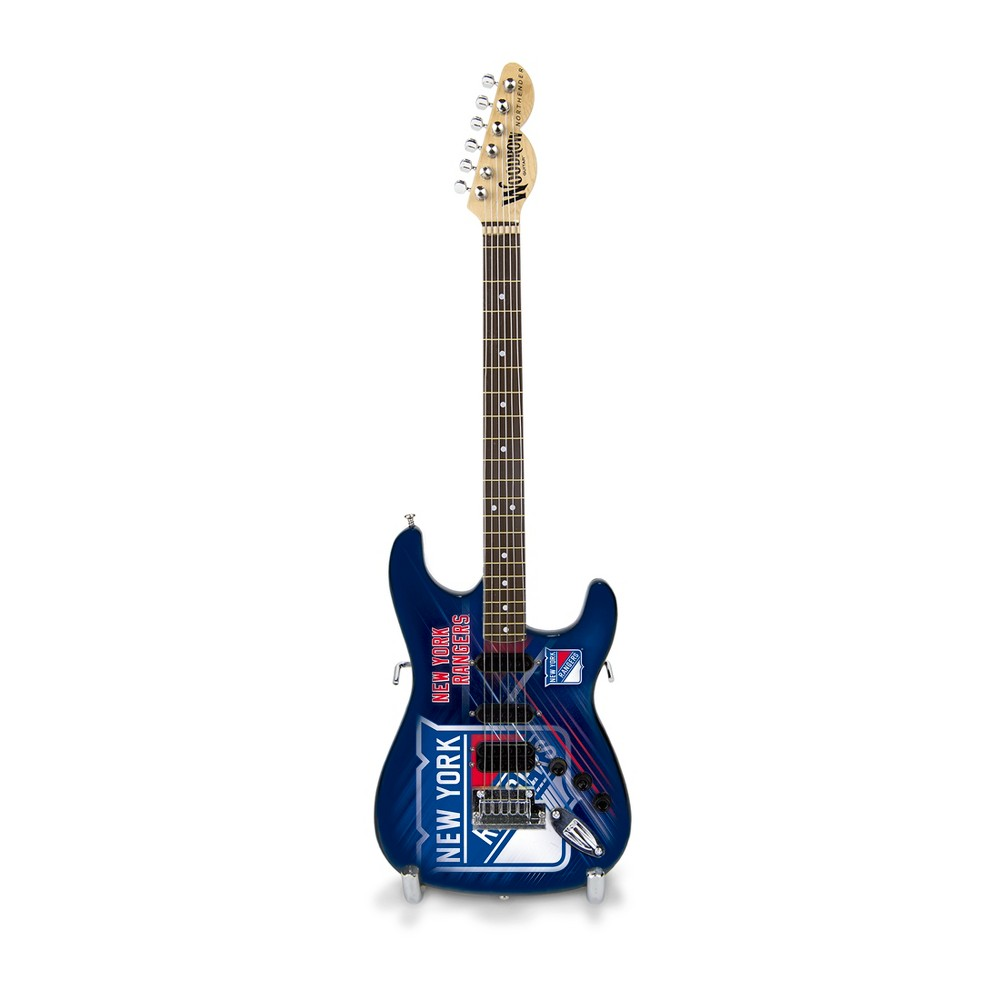 New York Rangers Mini Guitar