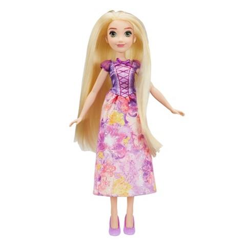 disney princess royal shimmer rapunzel doll target