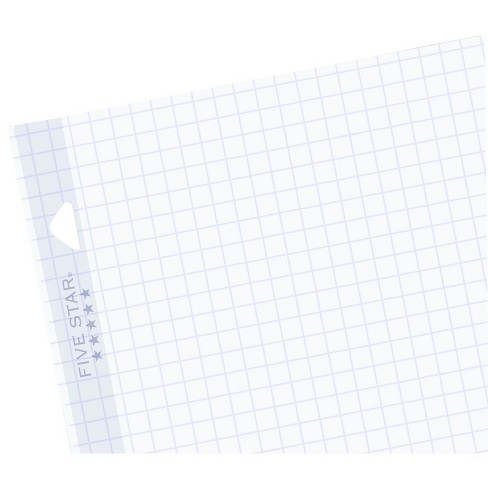 five star filler paper graph ruled reinforced 100ct target
