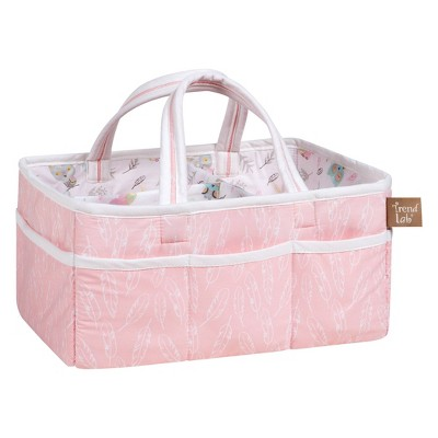 Trend Lab Diaper Caddy Paisley Pink