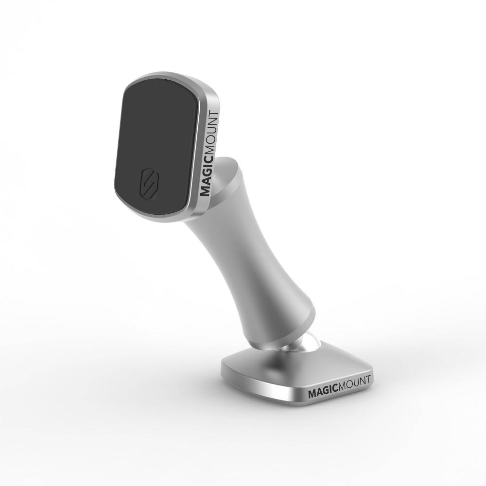 Scosche Magic Mount Elite Double Pivot Adhesive Mobile Device Stand Silver