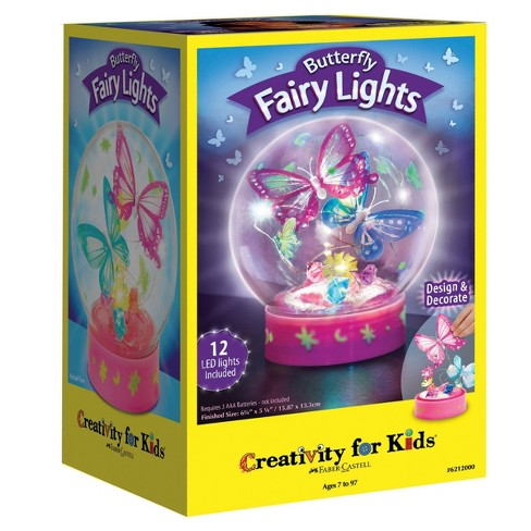 Creativity For Kids Butterfly Fairy Lights Design Kit - image 1 of 4