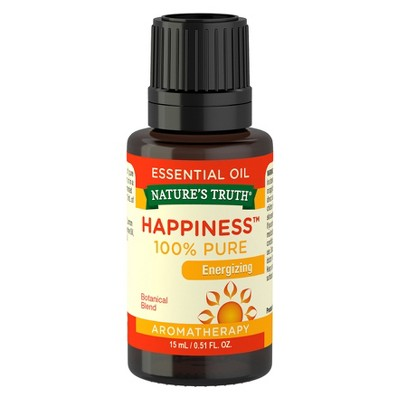 Natures Truth Happiness Essential Oil - 15ml