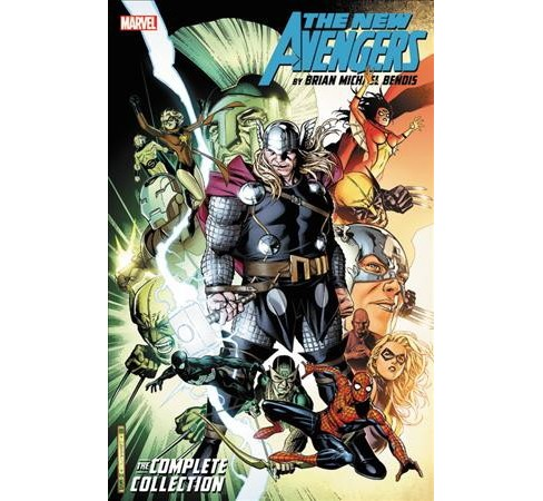 New Avengers 5 : The Complete Collection (Reprint) (Paperback) (Brian Michael Bendis) - image 1 of 1