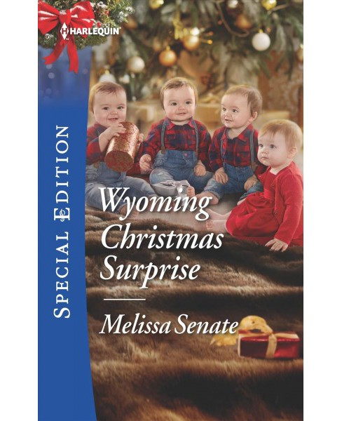 Wyoming Christmas Surprise -  (Harlequin Special Edition) by Melissa Senate (Paperback) - image 1 of 1