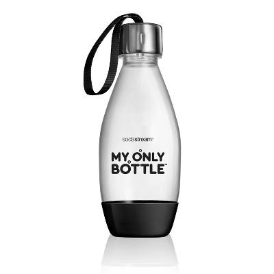 SodaStream 0.5L Portable Drinking Bottle - Black