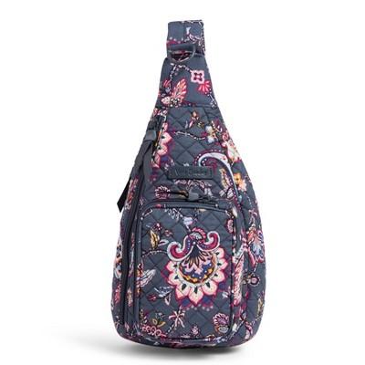 Vera Bradley Women's Cotton Mini Sling Backpack