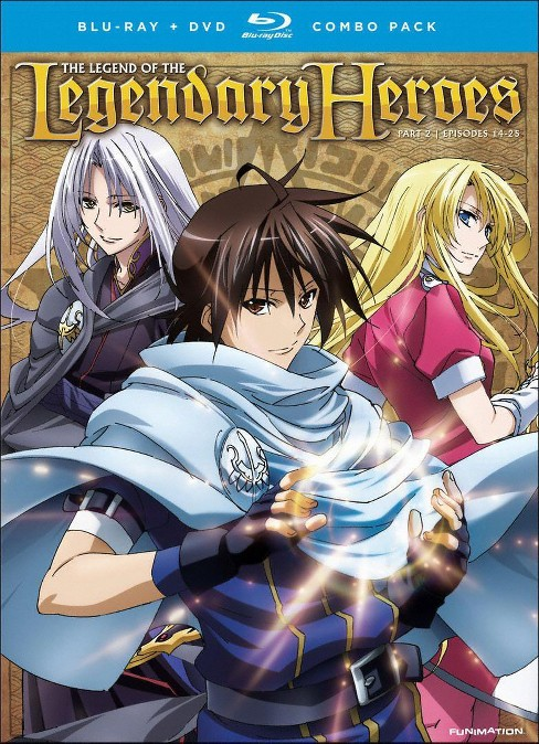 Legend of the legendary heroes:Pt 2 (Blu-ray) - image 1 of 1