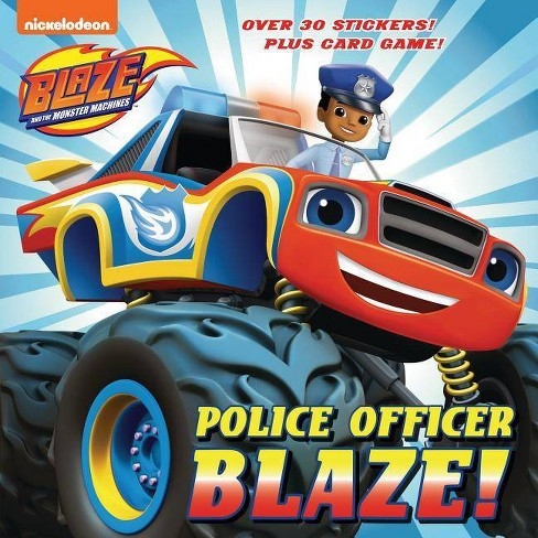 Police Officer Blaze! (Blaze and the Monster Machines) - (Pictureback(r)) by  Mary Tillworth (Paperback) - image 1 of 1