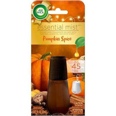 Air Wick Essential Mist Refill Air Freshener - Pumpkin Spice - 0.67oz