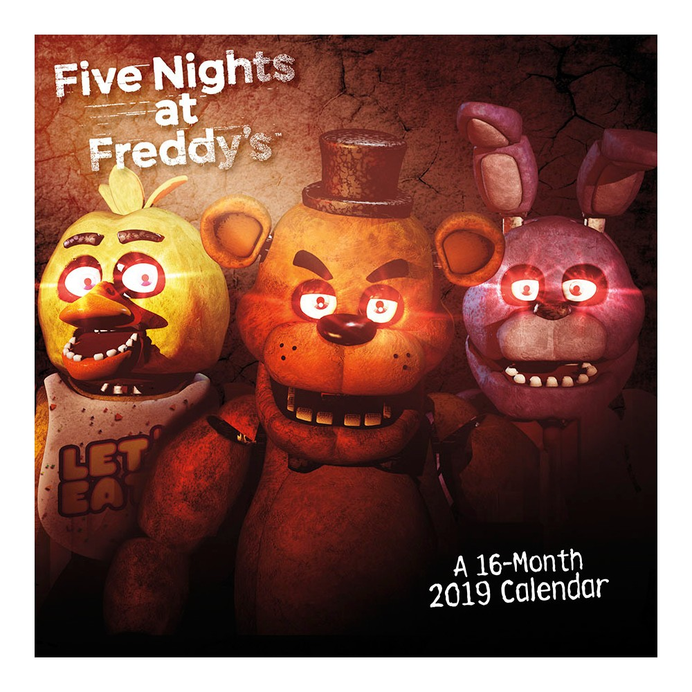 2019 Wall Calendar Five Nights at Freddy's - Trends International, Multi-Colored