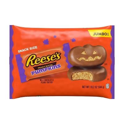 Reese's Halloween Peanut Butter Pumpkins Snack Size - 19.2oz