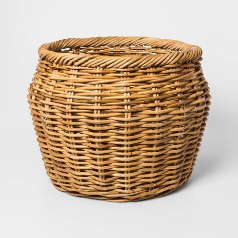 "20"" x 15"" Rattan Basket Natural - Threshold™ - image 1 of 1"