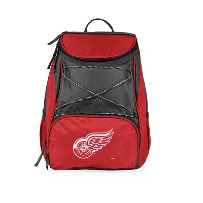 NHL Detroit Red Wings PTX Backpack Cooler - Red