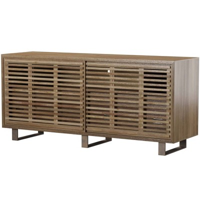 Media Cabinet with Four Drawers Brown - Stylecraft
