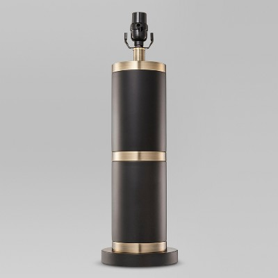 Franklin Lamp Base Large   Black/Brass (Includes Cfl Bulb)   Threshold™ by Threshold